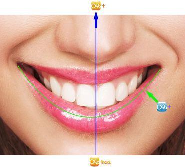 Linha lábio inferior