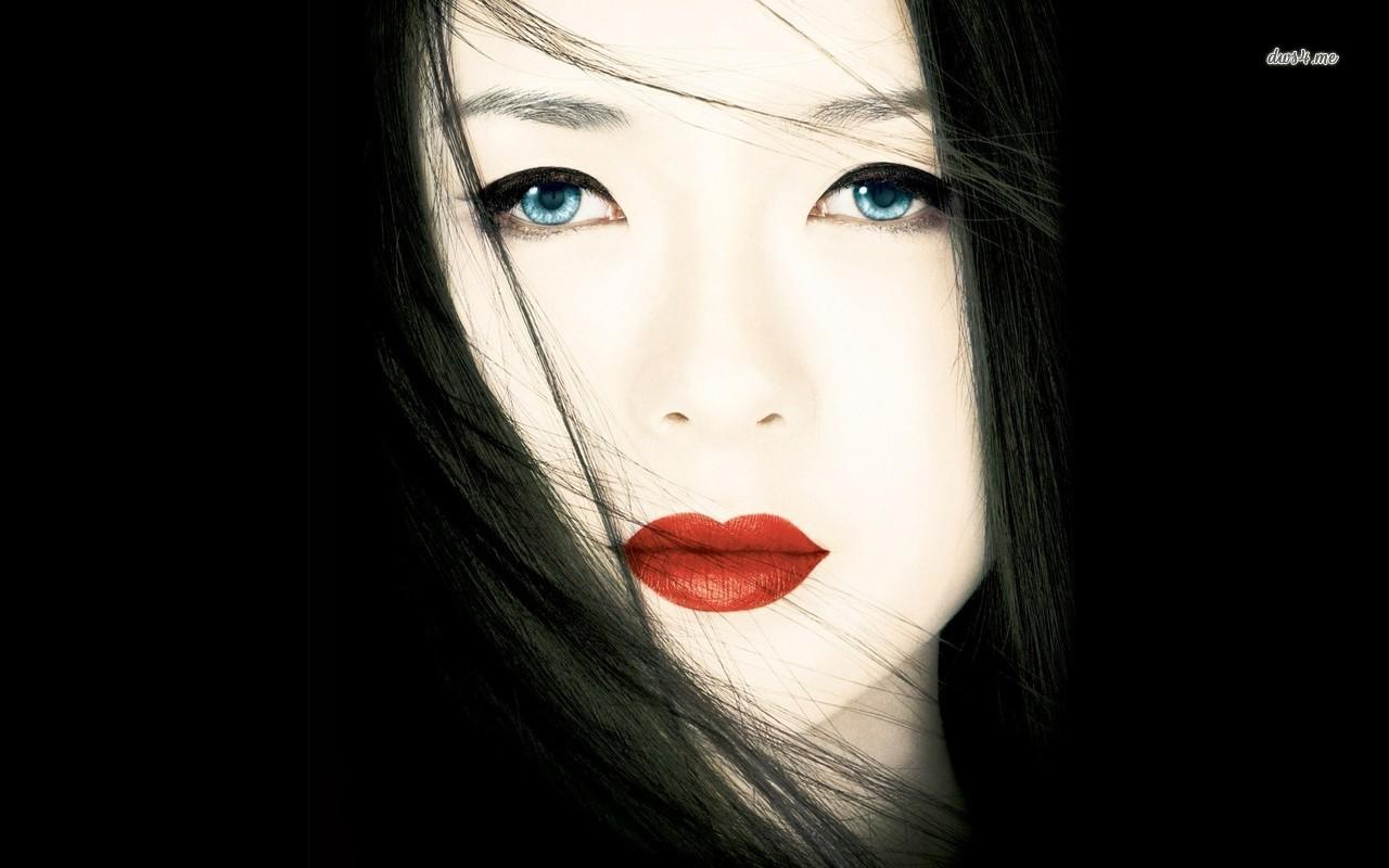 Foto rosto feminino