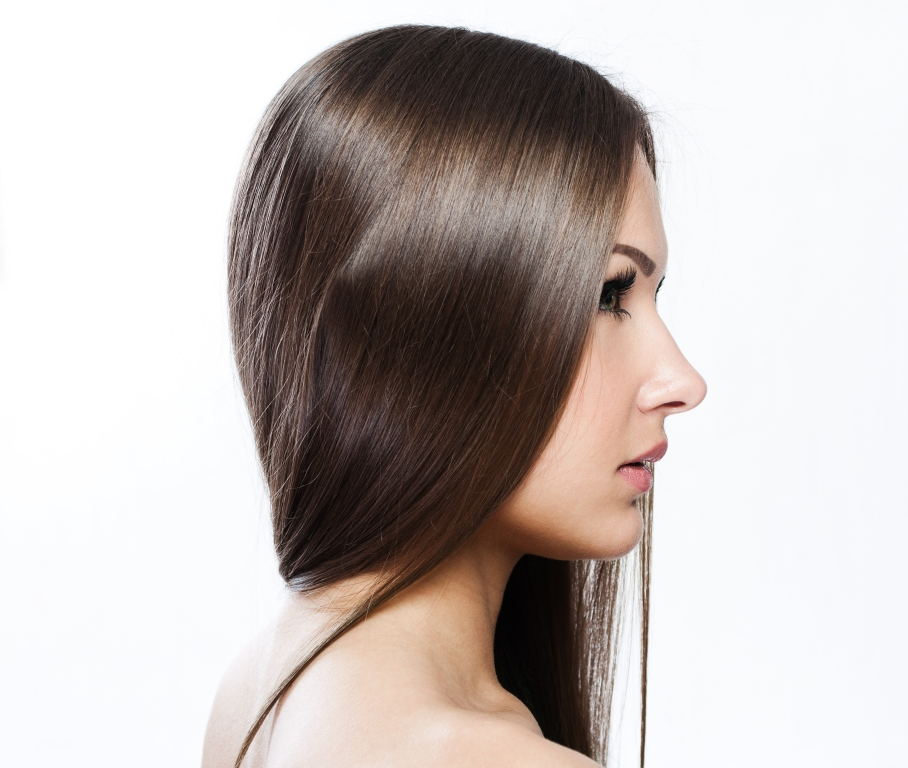 perfil rosto feminino