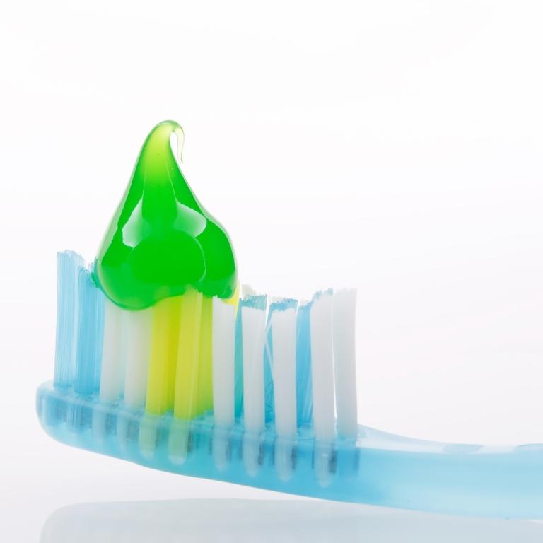 Quantidade de creme dental na escovação